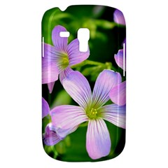Little Purple Flowers 2 Samsung Galaxy S3 Mini I8190 Hardshell Case by timelessartoncanvas
