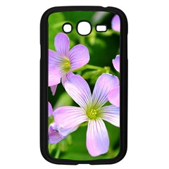 Little Purple Flowers 2 Samsung Galaxy Grand Duos I9082 Case (black) by timelessartoncanvas