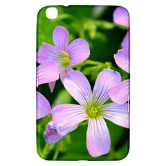 Little Purple Flowers 2 Samsung Galaxy Tab 3 (8 ) T3100 Hardshell Case  by timelessartoncanvas