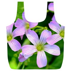 Little Purple Flowers 2 Full Print Recycle Bags (l)  by timelessartoncanvas