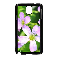 Little Purple Flowers 2 Samsung Galaxy Note 3 Neo Hardshell Case (black) by timelessartoncanvas
