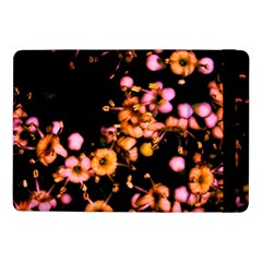 Little Peach And Pink Flowers Samsung Galaxy Tab Pro 10 1  Flip Case by timelessartoncanvas