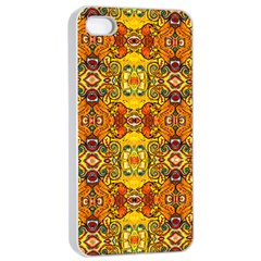 Roof Apple Iphone 4/4s Seamless Case (white) by MRTACPANS