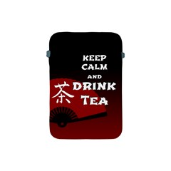 Keep Calm And Drink Tea - Dark Asia Edition Apple Ipad Mini Protective Soft Cases
