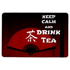 Keep Calm And Drink Tea   Dark Asia Edition Ipad Air 2 Flip