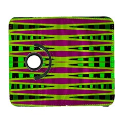 Bright Green Pink Geometric Samsung Galaxy S  Iii Flip 360 Case by BrightVibesDesign