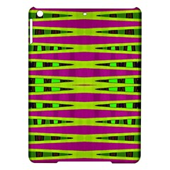 Bright Green Pink Geometric Ipad Air Hardshell Cases