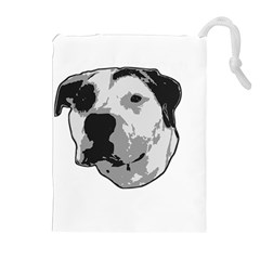 Pit Bull T Bone Graphic  Drawstring Pouches (extra Large) by ButThePitBull