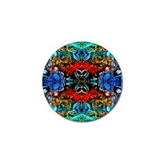 Colorful  Underwater Plants Pattern Golf Ball Marker (4 Pack) by Costasonlineshop