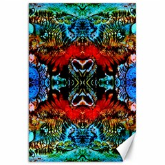 Colorful  Underwater Plants Pattern Canvas 20  X 30