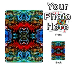 Colorful  Underwater Plants Pattern Multi Purpose Cards (rectangle)  by Costasonlineshop