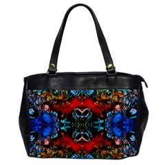Colorful  Underwater Plants Pattern Office Handbags by Costasonlineshop