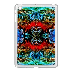 Colorful  Underwater Plants Pattern Apple Ipad Mini Case (white) by Costasonlineshop