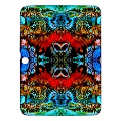 Colorful  Underwater Plants Pattern Samsung Galaxy Tab 3 (10 1 ) P5200 Hardshell Case  by Costasonlineshop
