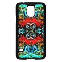 Colorful  Underwater Plants Pattern Samsung Galaxy S5 Case (black) by Costasonlineshop
