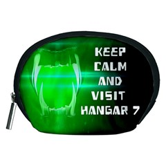 Keep Calm And Visit Hangar 7 Accessory Pouches (medium)