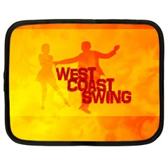 West Coast Swing Netbook Case (large) by LetsDanceHaveFun