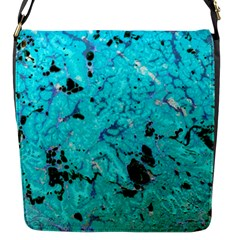 Aquamarine Collection Flap Messenger Bag (s) by bighop