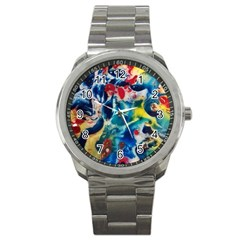 Colors Of The World Bighop Collection By Jandi Sport Metal Watch by bighop