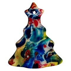 Colors Of The World Bighop Collection By Jandi Christmas Tree Ornament (2 Sides)