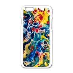 Colors Of The World Bighop Collection By Jandi Apple Iphone 6/6s White Enamel Case