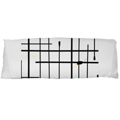 White Limits By Jandi Body Pillow Case (dakimakura) by bighop