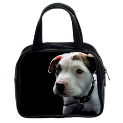 Pit Bull T Bone Puppy Classic Handbags (2 Sides) by ButThePitBull