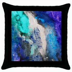 Violet Art Throw Pillow Case (black) by 20JA