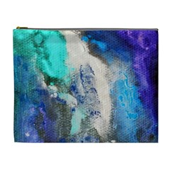 Violet Art Cosmetic Bag (xl) by 20JA