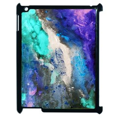 Violet Art Apple Ipad 2 Case (black) by 20JA