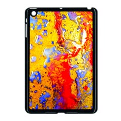 Gold And Red Apple Ipad Mini Case (black) by 20JA