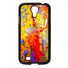 Gold And Red Samsung Galaxy S4 I9500/ I9505 Case (black) by 20JA
