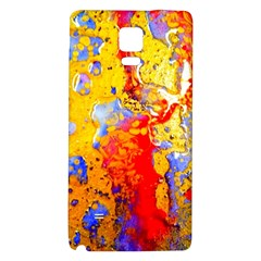 Gold And Red Galaxy Note 4 Back Case by 20JA