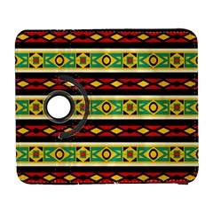 Rhombus Chains And Other Shapes 			samsung Galaxy S Iii Flip 360 Case by LalyLauraFLM