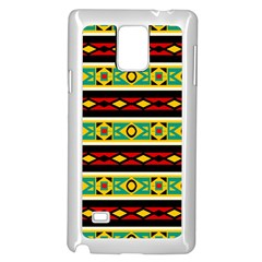 Rhombus Chains And Other Shapes 			samsung Galaxy Note 4 Case (white) by LalyLauraFLM
