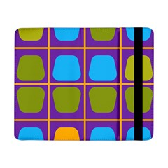 Shapes In Squares Pattern 			samsung Galaxy Tab Pro 8 4  Flip Case