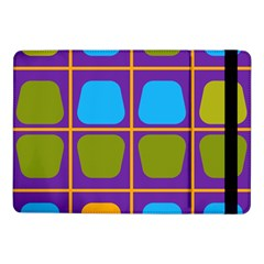 Shapes In Squares Pattern 			samsung Galaxy Tab Pro 10 1  Flip Case