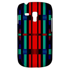 Stripes And Rectangles  			samsung Galaxy S3 Mini I8190 Hardshell Case by LalyLauraFLM