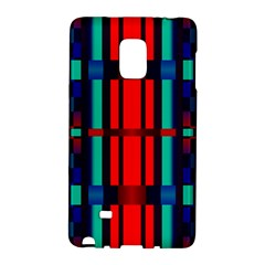 Stripes And Rectangles  			samsung Galaxy Note Edge Hardshell Case by LalyLauraFLM