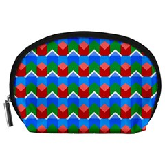 Shapes Rows Accessory Pouch by LalyLauraFLM