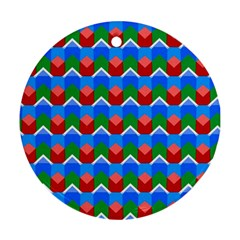 Shapes Rows 			ornament (round) by LalyLauraFLM