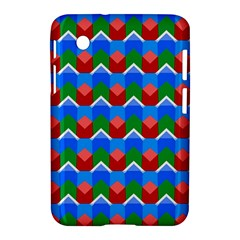 Shapes Rows 			samsung Galaxy Tab 2 (7 ) P3100 Hardshell Case by LalyLauraFLM