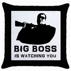 Bigboss Throw Pillow Cases (black) by RespawnLARPer