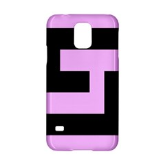 Black And Pink Samsung Galaxy S5 Hardshell Case  by timelessartoncanvas