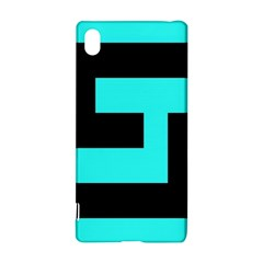 Black And Teal Sony Xperia Z3+ by timelessartoncanvas