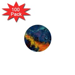 Space Balls 1  Mini Buttons (100 Pack)  by timelessartoncanvas