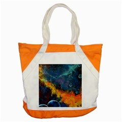 Space Balls Accent Tote Bag by timelessartoncanvas