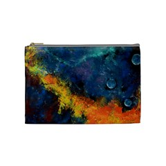 Space Balls Cosmetic Bag (medium)  by timelessartoncanvas