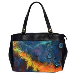 Space Balls Office Handbags (2 Sides)  by timelessartoncanvas