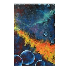 Space Balls Shower Curtain 48  X 72  (small)  by timelessartoncanvas